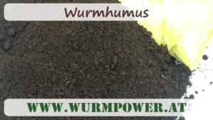 Wurmhumus, Wurmdünger
