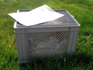 Humusbox klein - grau