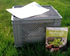 Humusbox klein mit Buch