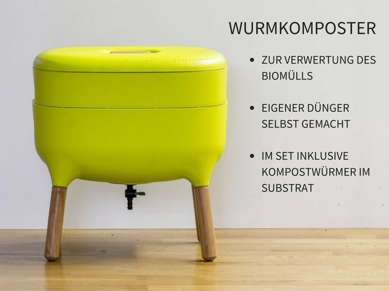 wurmkomposter urbalive wurmpower. Black Bedroom Furniture Sets. Home Design Ideas