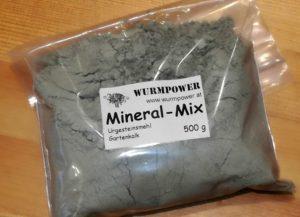 Mineral Mix für die Würmer