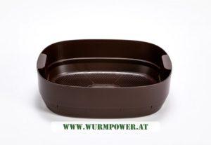 Wurmbett für Urbalive Wurmkomposter - Braun