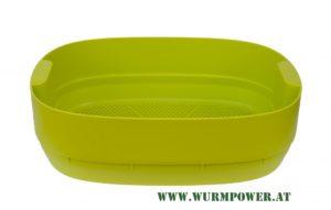Wurmbett für Urbalive Wurmkomposter - Grün